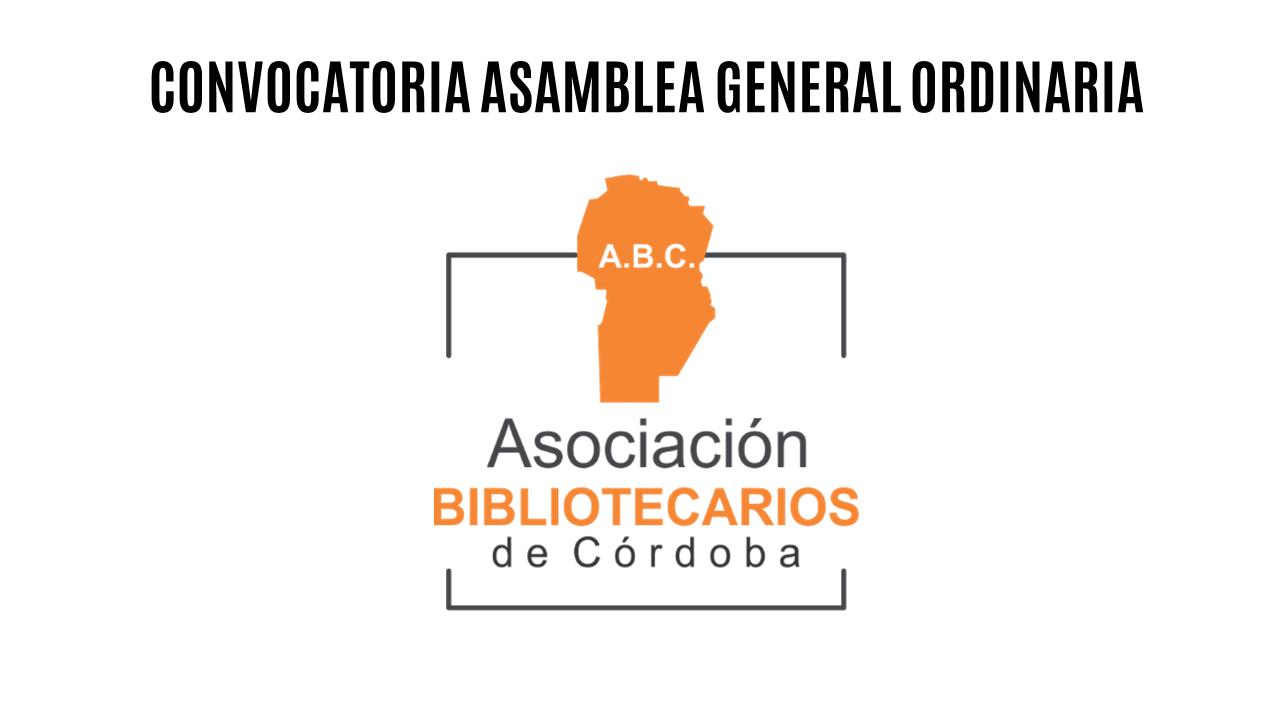 Convocatoria Asamblea General Ordinaria – Modalidad a distancia.