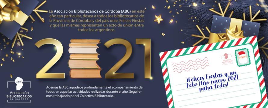 Felices Fiestas. Saludos de Fin de Año ABC